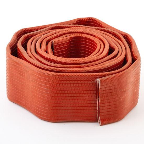 Plochá hadice TECHMATEX červená