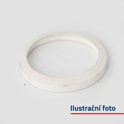 Těsnění hadicové spojky tlakové B75 - 1 KS (bílá)