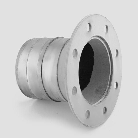 Ocelová příruba pro savici 105 mm