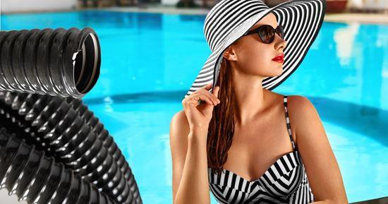 Solární ohřev bazénu - ilustrační foto