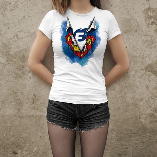 Dámské tričko Flídr Firesport - kreslená verze