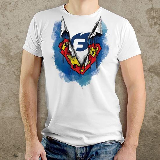 Pánské tričko Flídr Firesport - kreslená verze