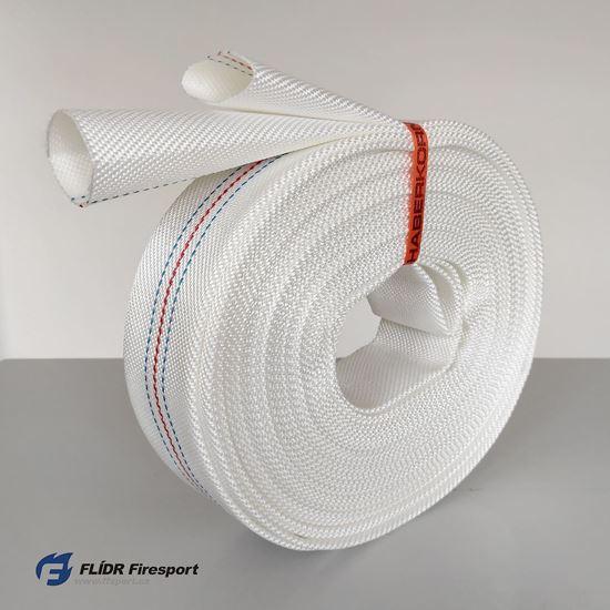Sportovní hadice Haberkorn Flammenflex-F (PUR) bílá C42, bez spojek